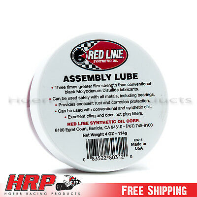 Red Line Assembly Lube - 4 oz. - PN: 80312