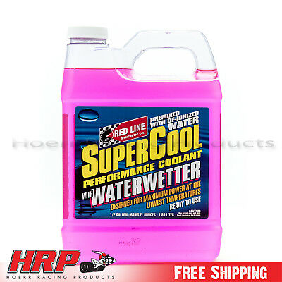 Red Line SuperCool with Water Wetter (1/2 Gallon) RED-80205