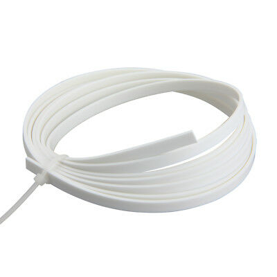 1 Pc Guitar Binding Purfling Strips Luther Supply 1650 x 4 x 1.5 mm White ABS