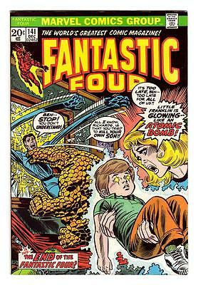 FANTASTIC FOUR 141 (VF+)  ANNIHILUS (FREE SHIPPING with BIN)*