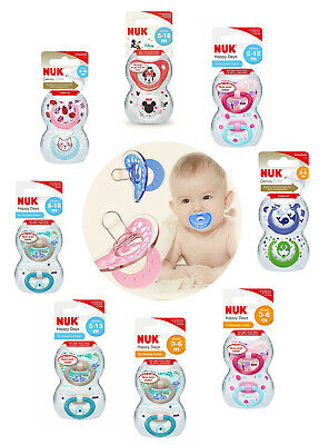 Nuk All Size & Design Silicone Soothers/Dummies Are Available