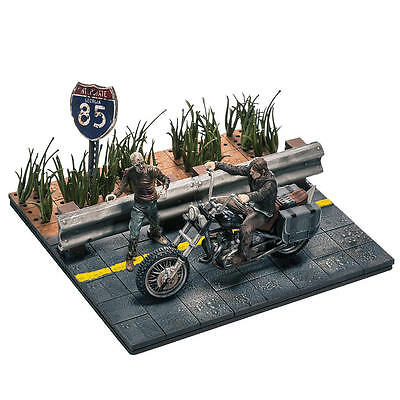 THE WALKING DEAD SERIES 1 - DARYL DIXON WITH CHOPPER! - McFARLANE BUILDING SETS