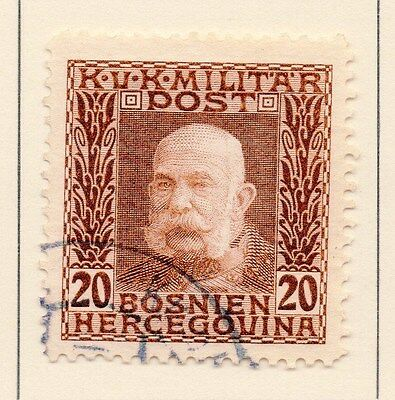 Bosnia Herzegovina 1912 Early Issue Fine Used 20h. 149212