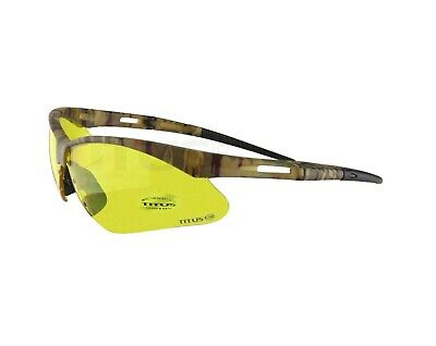 Shooting Safety Eye Protection Eyewear Range Glasses Tactical Competition Titus