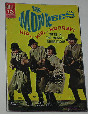 """The Monkees Comic Book Cover Floppy Magnet #3 Approx 3.25"""" x 2"""""""
