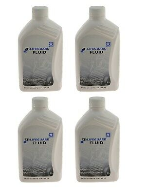 4-Liters OEM ZF Lifeguard 6 Automatic Transmission Fluid S671090255