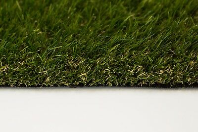40mm Deluxe - Astro Artificial Grass Lawn Garden Fake Turf **FREE DELIVERY**