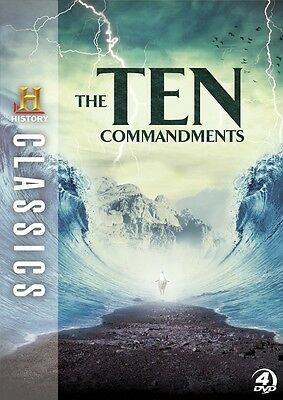 The Ten Commandments – History Channel Classics (DVD 4 disc) NEW