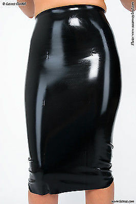 Jupe Latex Noir Black Latex Skirt Latexa