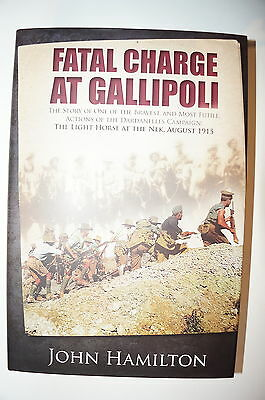 WW1 Australian Fatal Charge at Gallipoli Reference Book