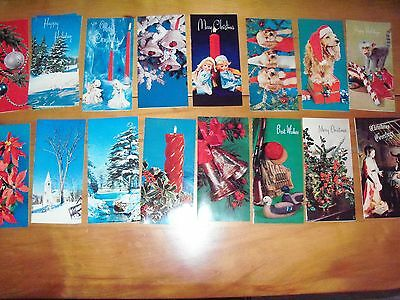 Vintage Christmas  Cards Made in U.S.A.  IOB