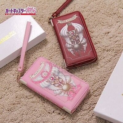 Anime Card Captor Sakura PU Long Wallet Purse Holder Handbag Collection