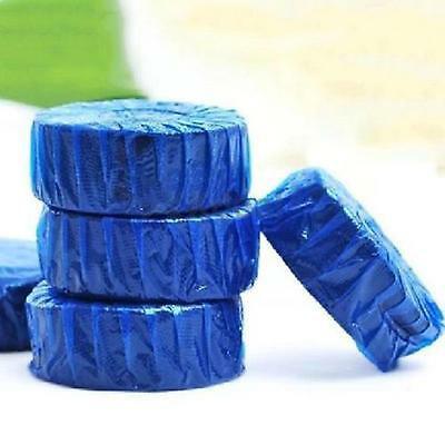 Practical Blue Home Automatic Cleaning Toilet Bowl Sewer Pipe Cleaner Deodorizer