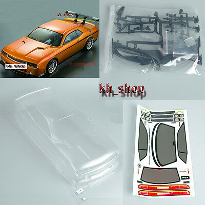 1:10 RC Car PC BODY SHELL for  Dodge viper SRT8 190mm PC201205 Clear 190mm