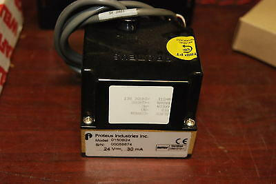 Proteus Industries, 0150B24, Flow Switch, 24 V, 30mA, New