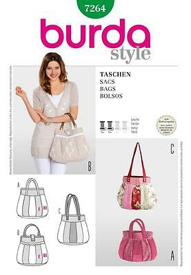 Burda Sewing Pattern Bags 7264