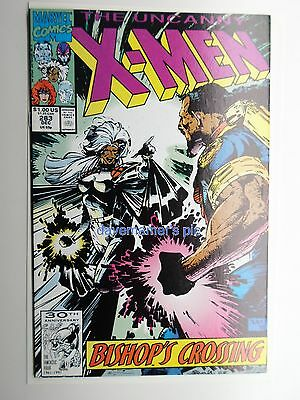 Marvel Comics Comic Book The Uncanny X-Men Issue #283 1991 1st First BISHOP NM