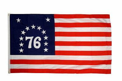 Bennington Flag 5 x 3 FT - USA United States America Independence 1776 War