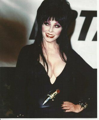 Elvira Cassandra Peterson with Big Smile Hand on Hip 8 x 10 Photo