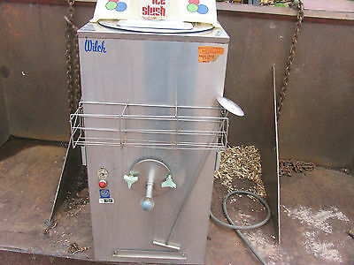 Wilch Ice Slush Machine 35-0 Countertop