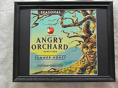 Angry Orchard Summer Honey  Beer Sign   #1250