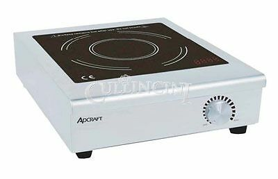 Adcraft Induction Cooker Glass Stainless Steel Commercial - Ind-C120V