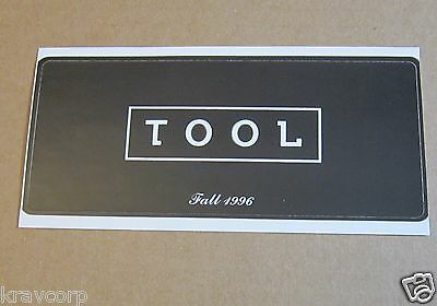 Tool—1996 Promotional Sticker
