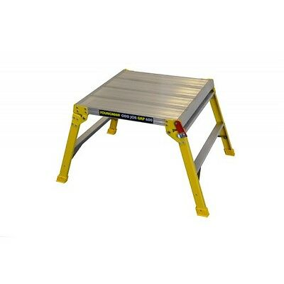 Youngman Odd Job Grp 600 Hop Up Work Platform Fibreglass