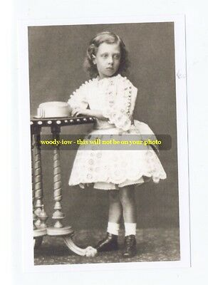 mm165 - Duke of Clarence as boy eldest child of KEVII - Royalty photo 6x4""