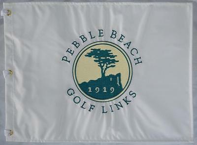 PEBBLE BEACH GOLF LINKS Embroidered Golf FLAG