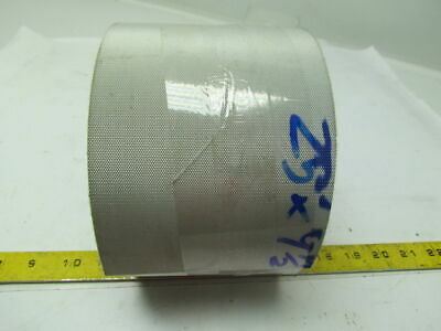 "Green 4-1/2""Wide 25Ft Long 0.100"" Thick I Shape Pattern 2 Ply Conveyor Belt"