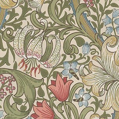 William Morris Golden Lily Wallpaper 210398