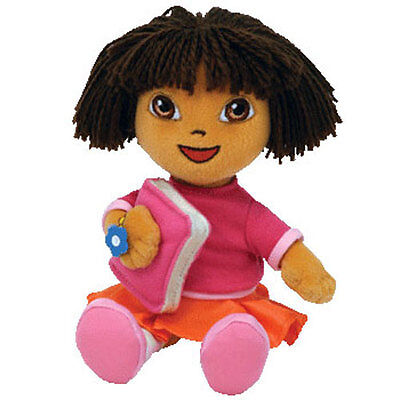 TY Beanie Baby - DORA the Explorer (Back to School Version) (7 inch) - MWMT's