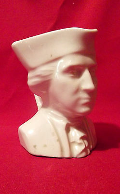Vintage Colonial Man Creamer  Marked U.s.a