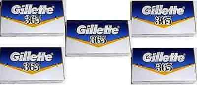 Gillette 365 Razor Shaving Blades Double Edge Safety Shave Replacement Blade