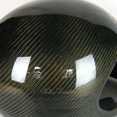 Carbon Fiber Full Face Protection Helmet Paragliding, Hang Gliding & more