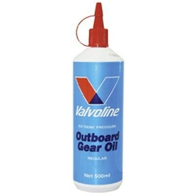 OUTBOARD GEAR OIL VALVOLINE EXTREME PRESSURE 500 MlL SQUEEZE BOTTLE