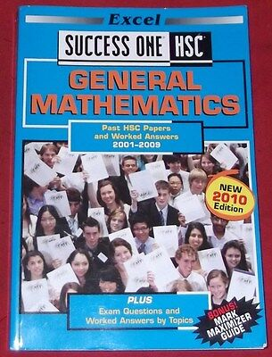 Excel Success One HSC Mathematics 2015 Past Papers