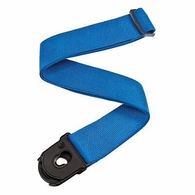Planet Lock Guitar Strap  PW-SPL-202 BLUE - Locks On To The Guitar !!
