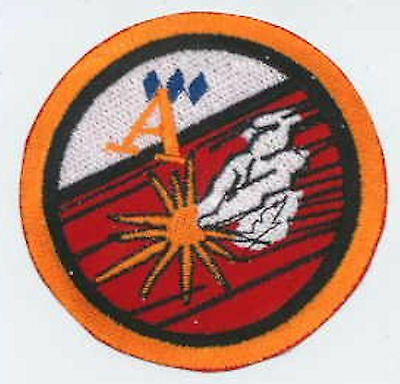 B5   Babylon 5 Embroidered Squadron Patch - Susan Ivanova - Ace of Diamond