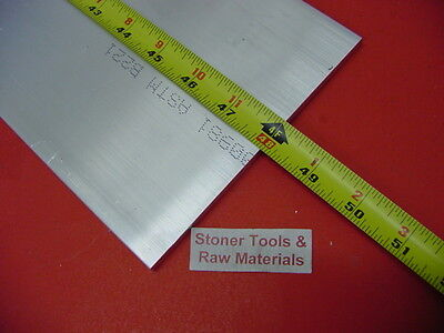 "1/4"" X 6"" ALUMINUM 6061 FLAT BAR 48"" long T6511 SOLID .250"" Plate Mill Stock"