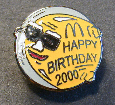 Pin Mcdonald´s Happy Birthday 2000  (An2368)