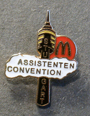 Pin Mcdonald´s Assistenen Convention Stuttgart  (An2384)