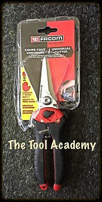 Facom Tools New Straight Metal Plastic Cable Leather Cutters Tool Snips Cutting