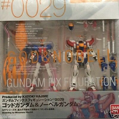 Used Bandai Gundam Fix Figuration #0029 God & Nobell Gundam From Japan