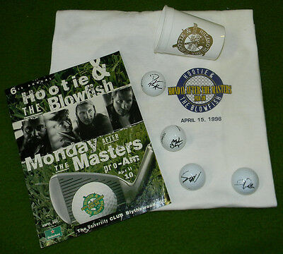 Hootie & The Blowfish SIGNED GOLF LOT Darrius Rucker Golf Ball Collectors L@@K