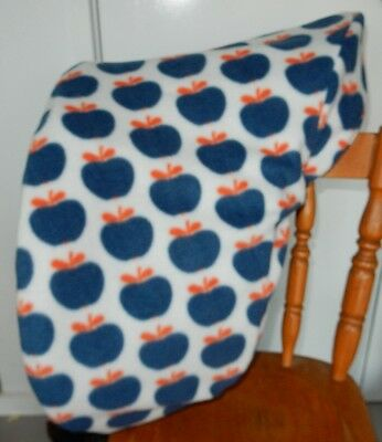 Horse Saddle cover Navy Apples FREE EMBROIDERY Australian Made Protection