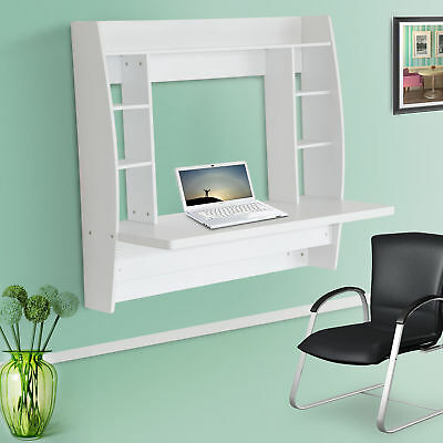 New Floating Wall Mounted Table Office Bedroom Computer Desk Home Furniture