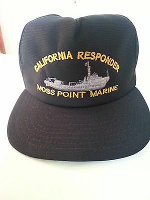 California Responder Moss Point Marine Ball Cap  Hat