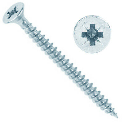 TIMCO 4g 6g 8g 9g 10g 12g ZINC CROSS RECESS COUNTERSUNK SCREWS POZI HEAD PZ1 PZ2